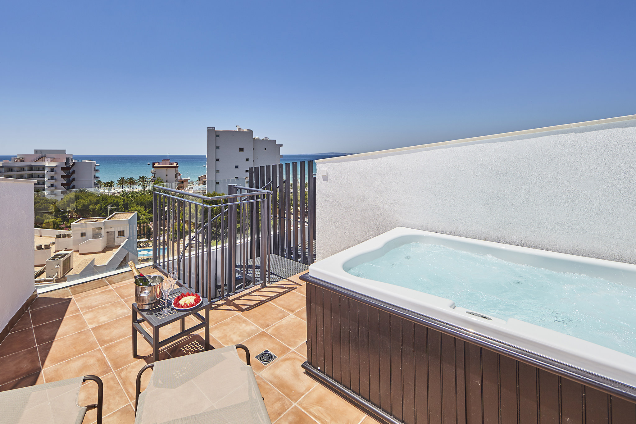 book your double room sea view at Hotel Principe in Playa de Palma