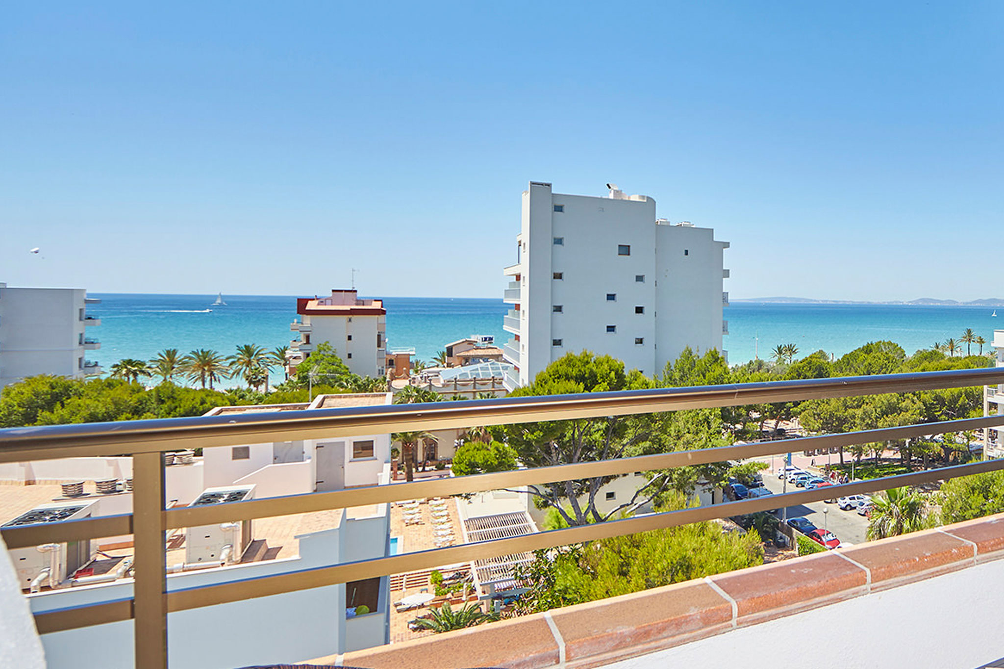 double room sea view hotel principe in playa de palma
