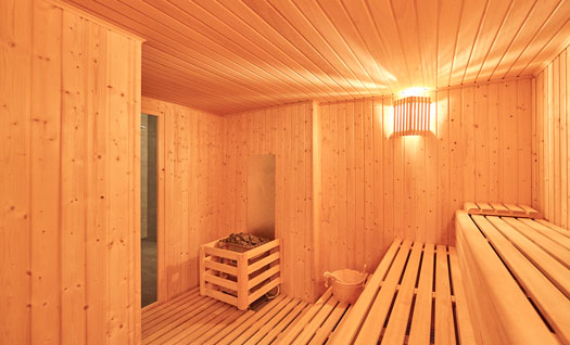 sauna spa wellness of hotel el principe in playa de palma